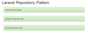 Laravel Repository Pattern