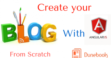 how to make a blog website from scratch