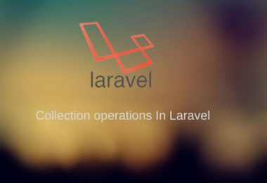 Collection operations In Laravel