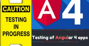 angular 4 testing