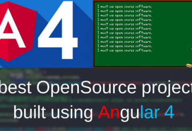 angular 4 projects