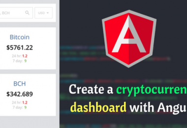 Create a cryptocurrency dashboard with Angular