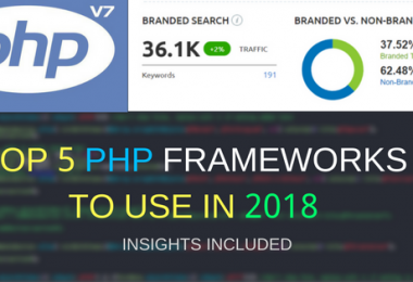 Top 5 PHP Frameworks to use in 2018