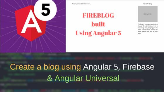 angular 5 tutorial