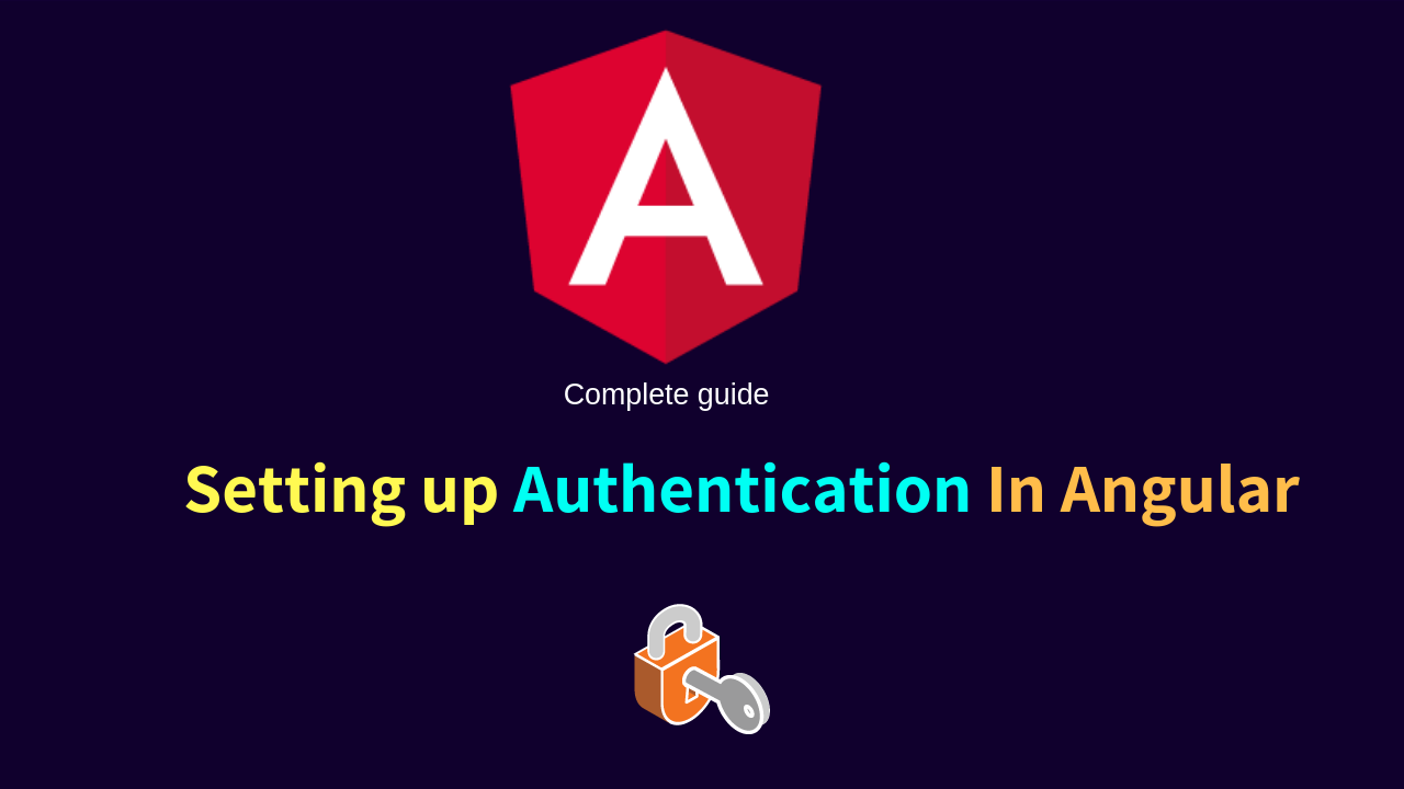 Setting up Authentication In Angular