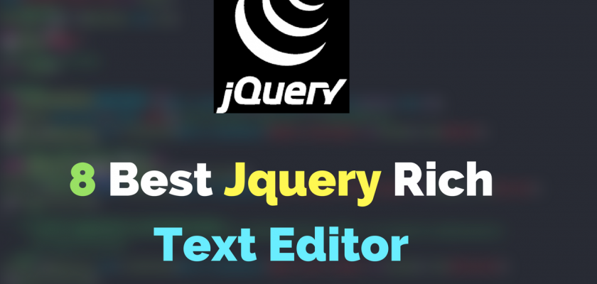 Jquery text editor