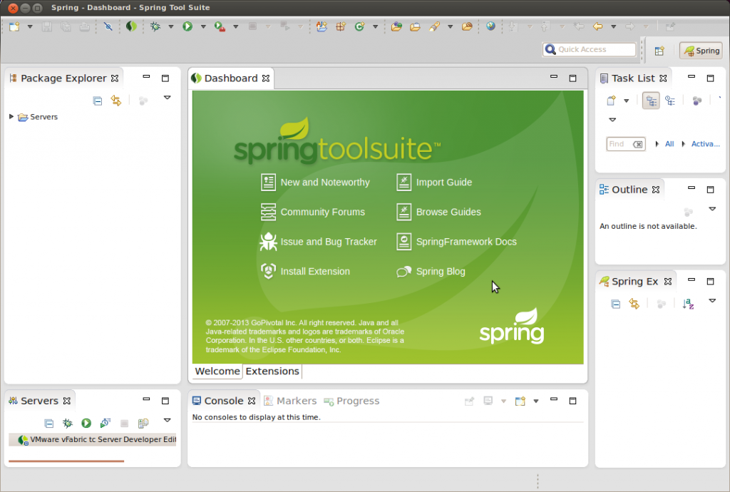 Spring Tools eclipse plugins