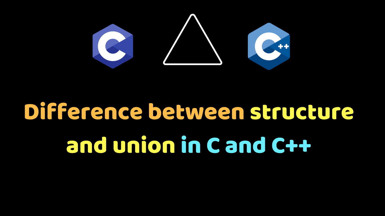 Difference between structure and union in C and C++