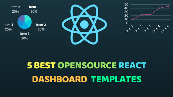 5 best opensource react dashboard templates for react