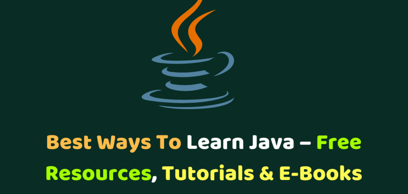 best ways to learn Java