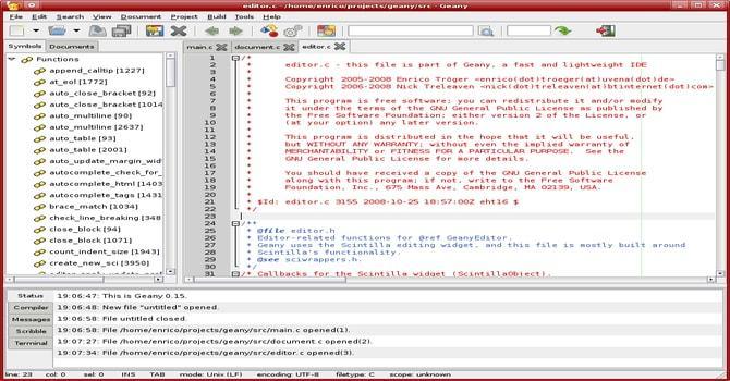 linux ide