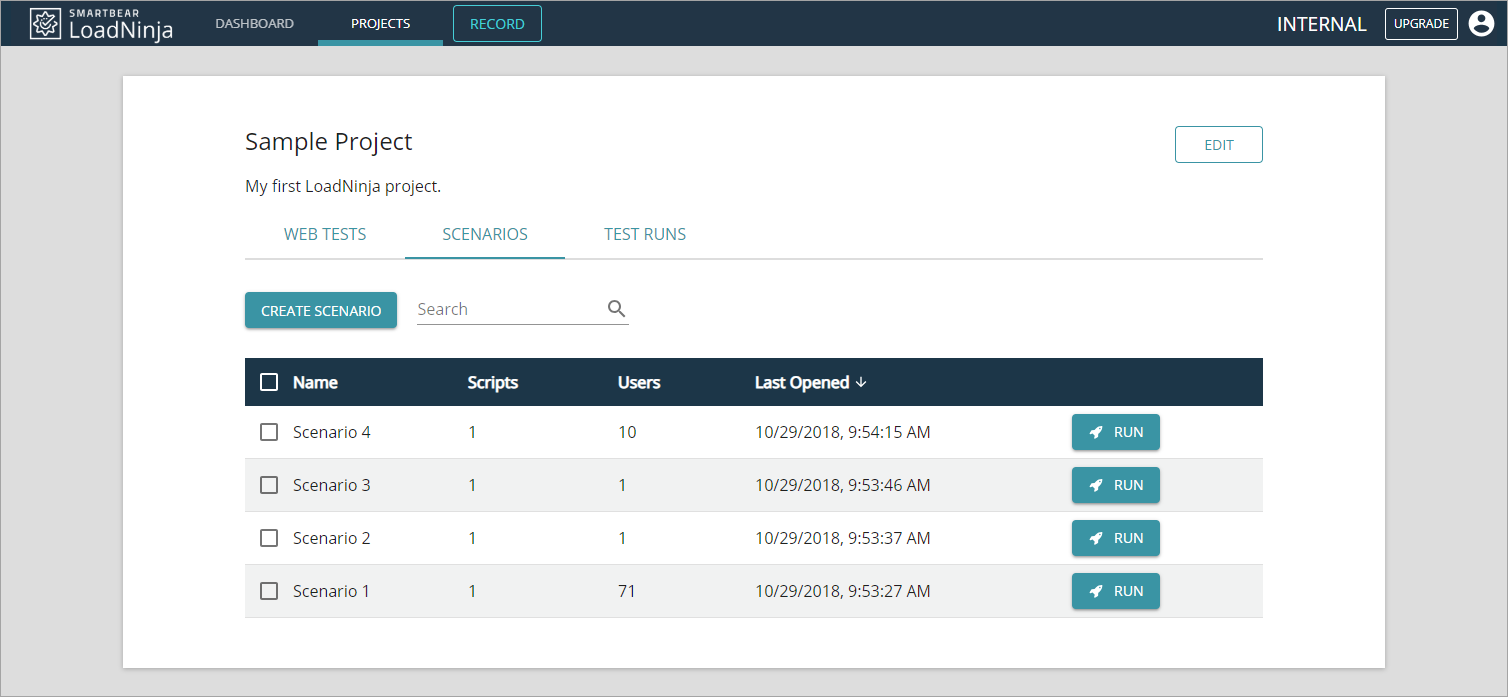 Cloud-based load testing tools
