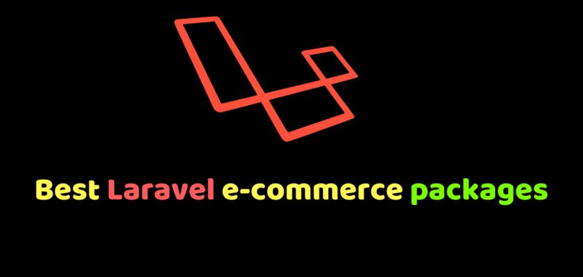 Laravel e-commerce packages