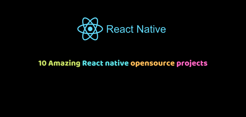 React native opensource projects