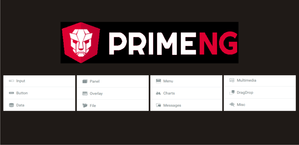 Prime NG UI components