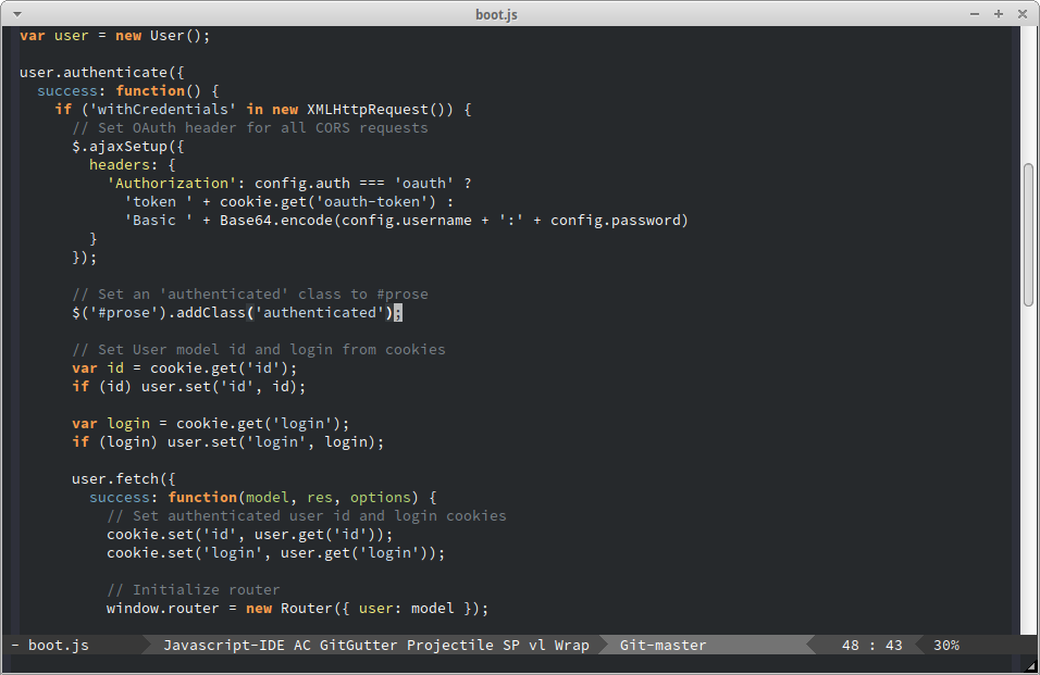 Flatland Emacs Theme