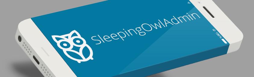 sleepingowladmin Laravel admin panel