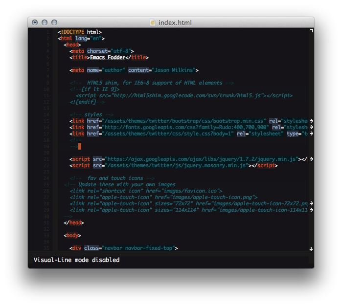 Emacs Themes