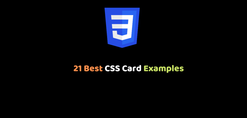21 Best CSS Card Examples