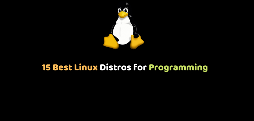 15 Best Linux Distros for Programming
