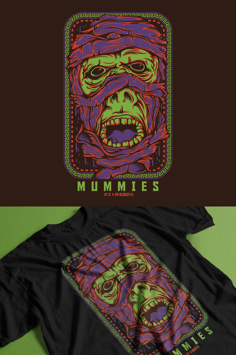 Mummies T-shirt