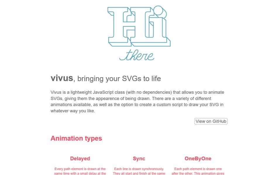 JavaScript Animation Libraries