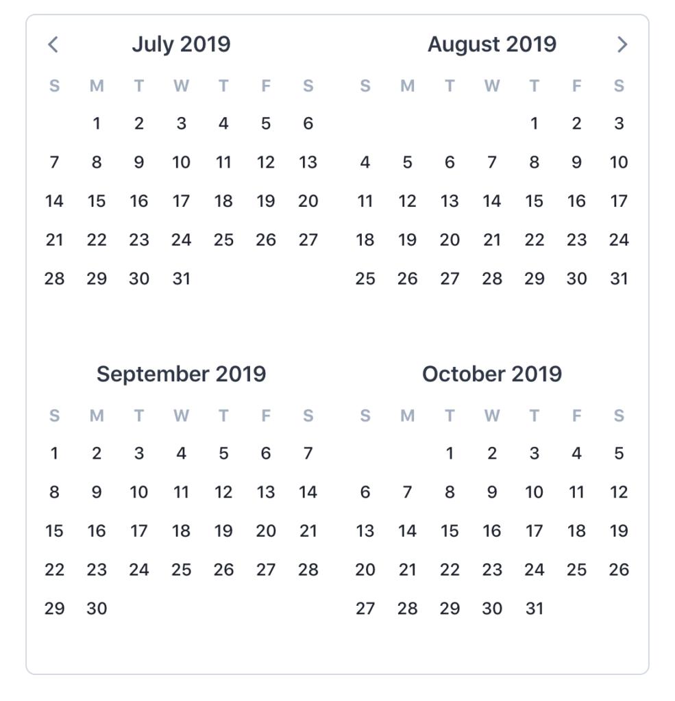 JavaScript Calendar Libraries