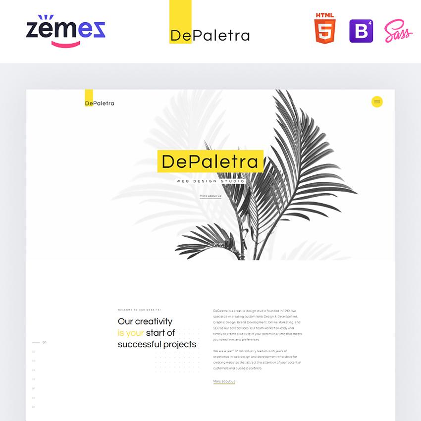 Creative Responsive HTML Theme