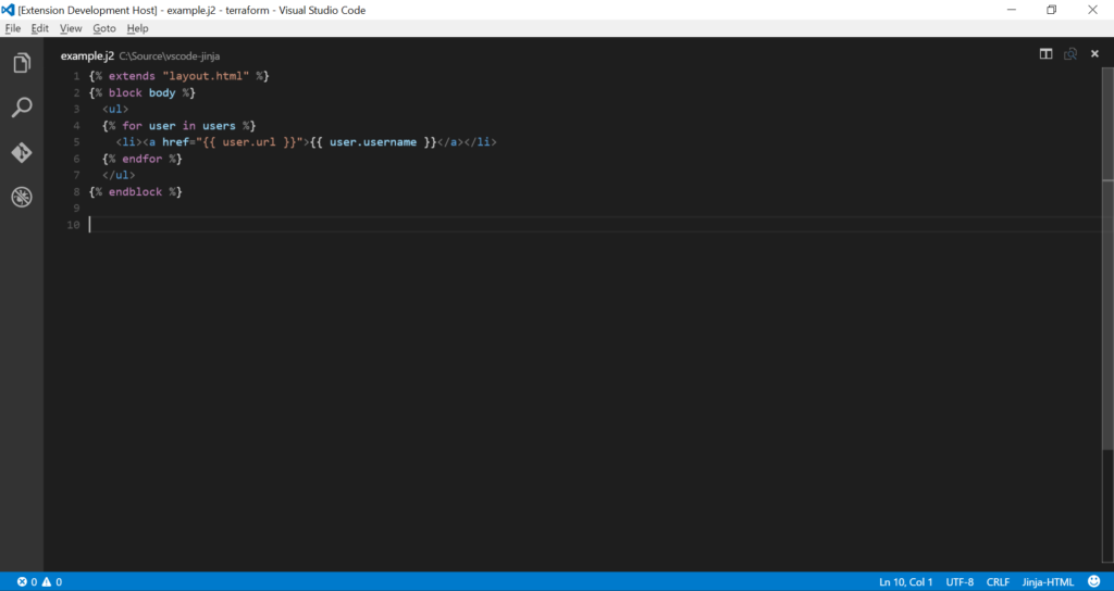 Vscode Python extensions