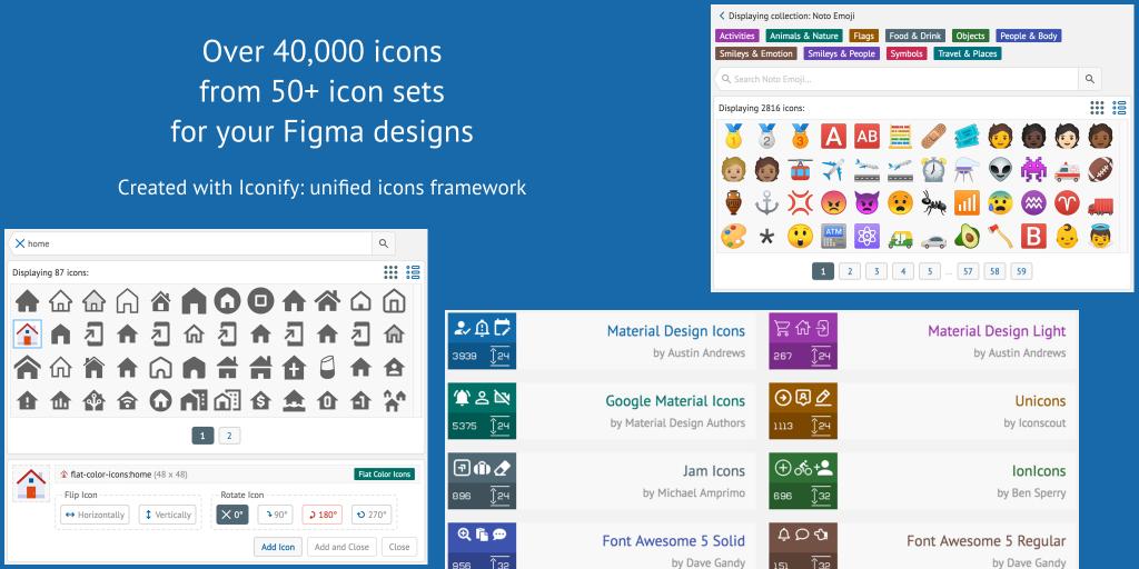 Iconify Plugin