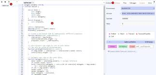 Solidity IDE