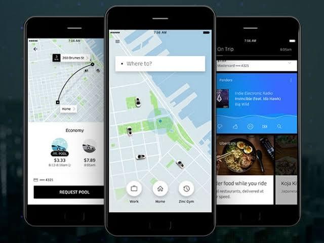 3. Transportation and Communicating (Uber)