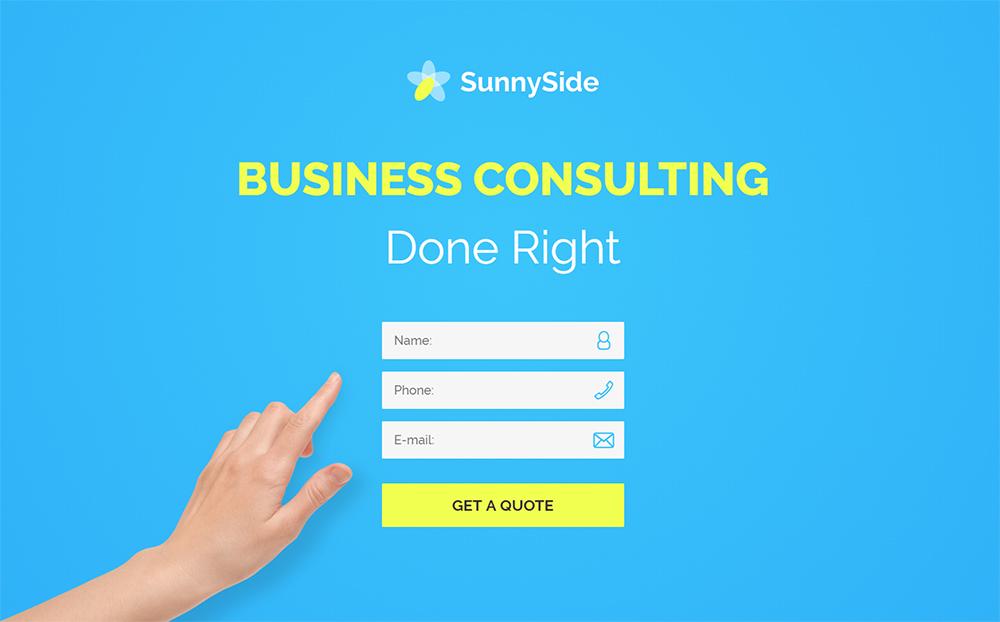 SunnySide HTML Template