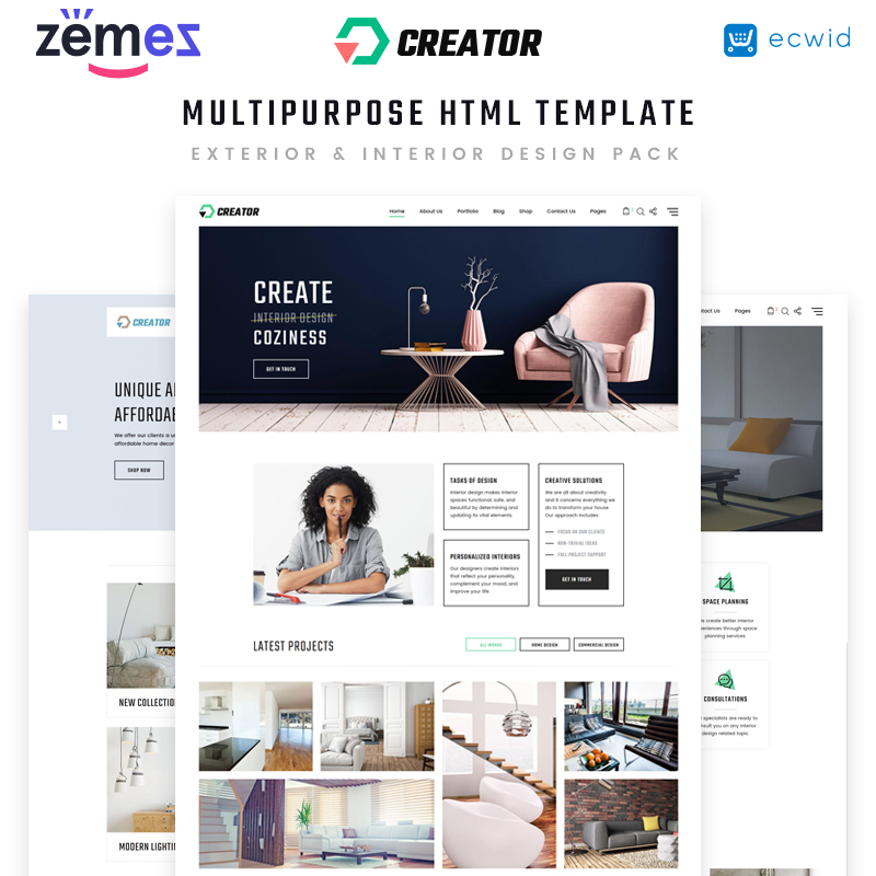 Design Multipurpose HTML5 Template
