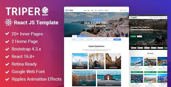 Travel Website Templates