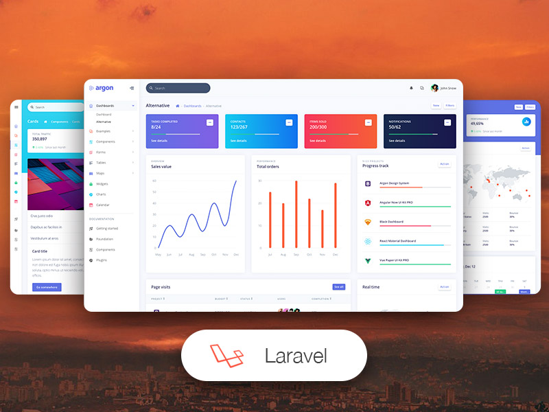best ​Laravel themes and templates