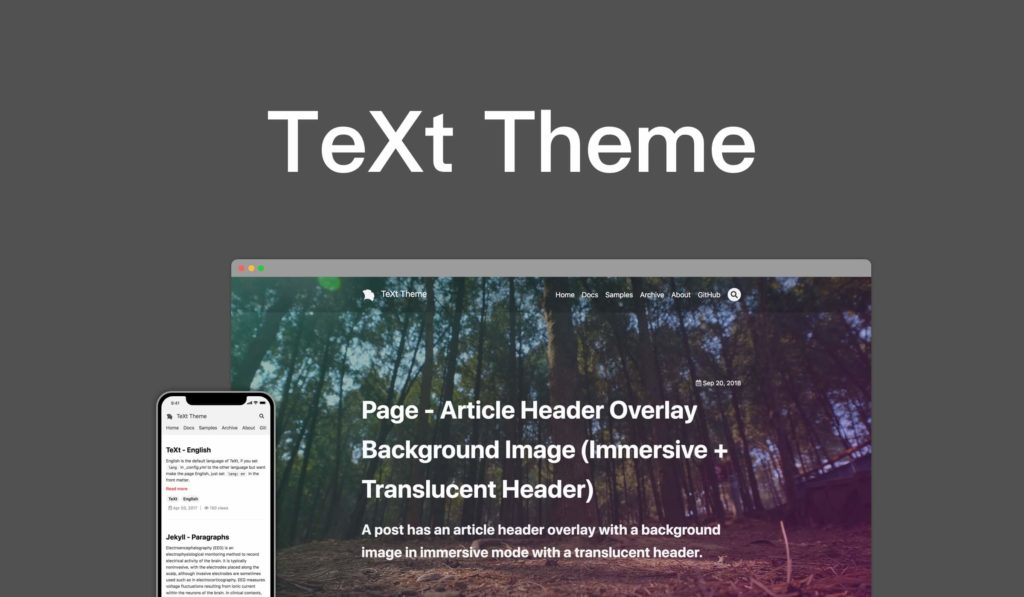 themes text