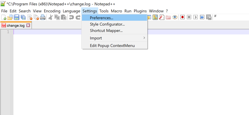 notepad++ tabs to spaces