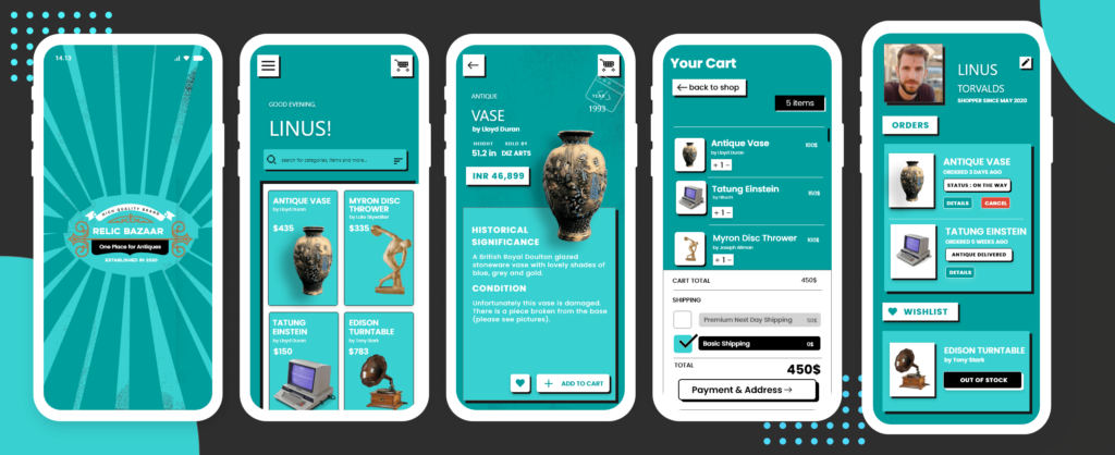 Flutter eCommerce UI Kits